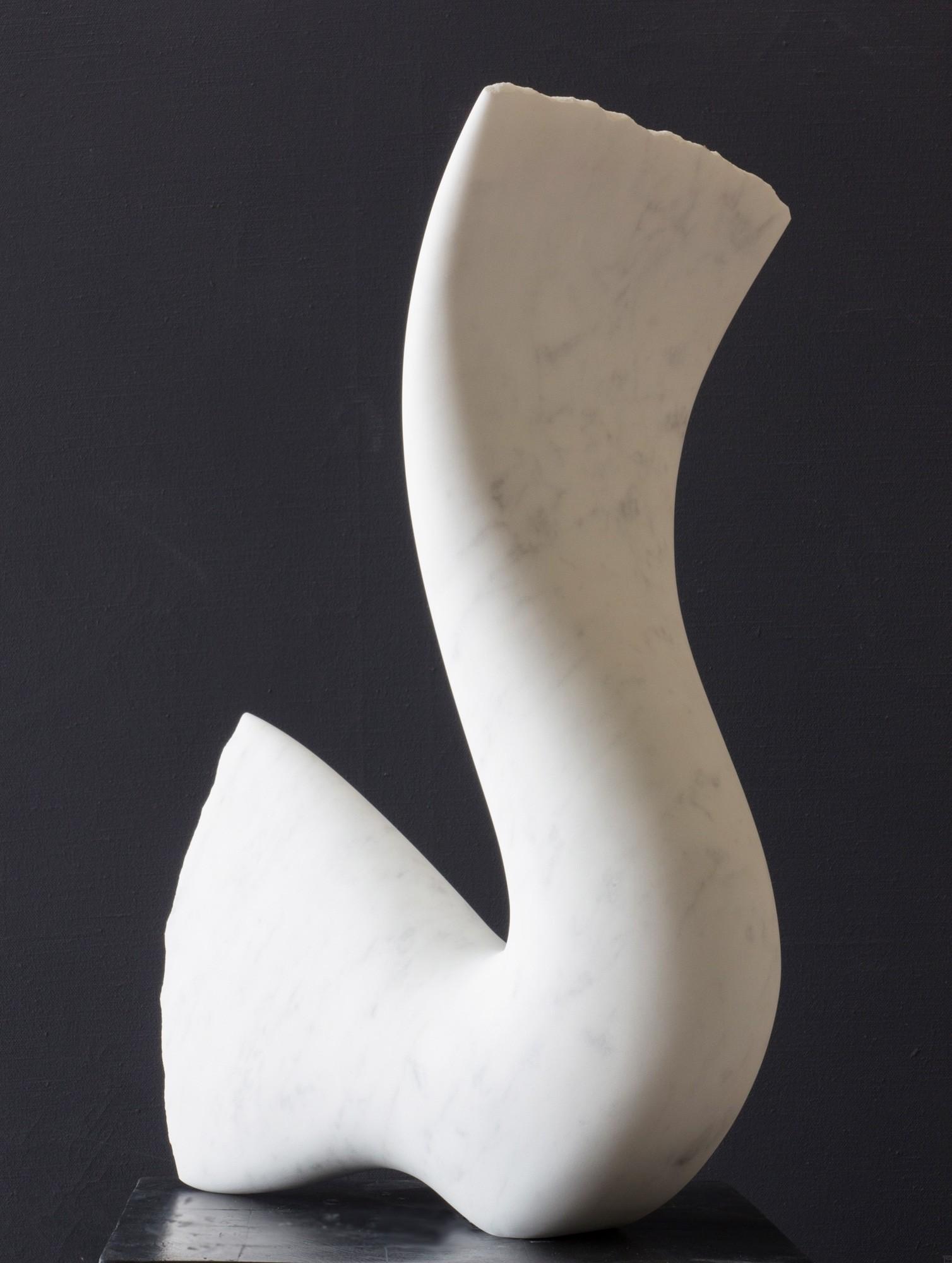 Leda, Stein Skulptur aus Marmor von Bildhauer Klaus W. Rieck (4)