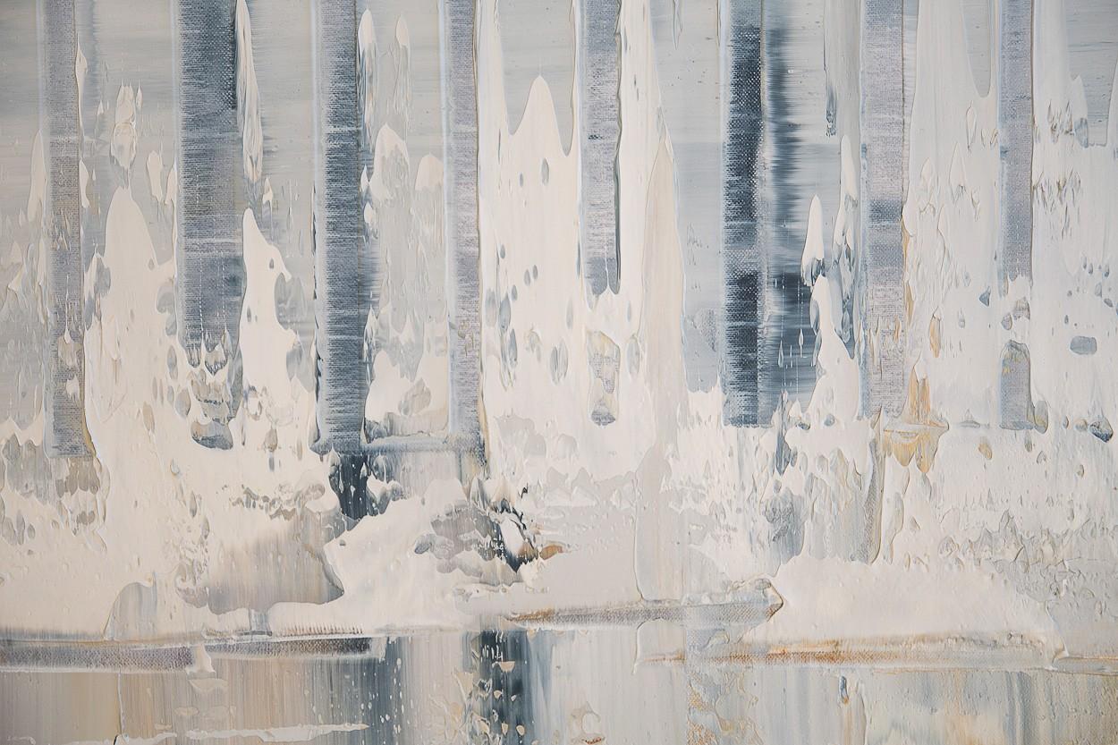 Querschnitt, Detail 1 | Malerei von Lali Torma | Öl auf Leinwand, abstrakt