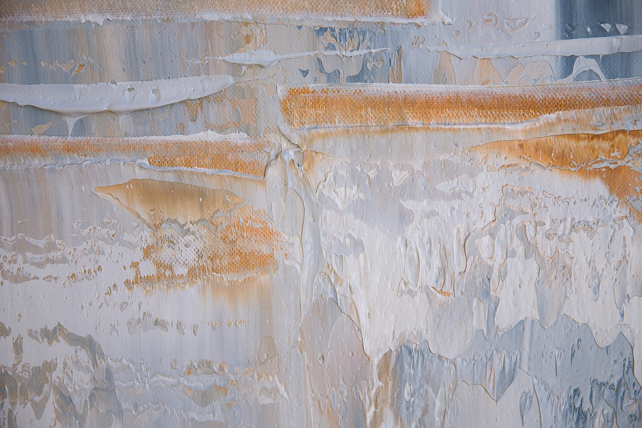 Querschnitt, Detail 3 | Malerei von Lali Torma | Öl auf Leinwand, abstrakt