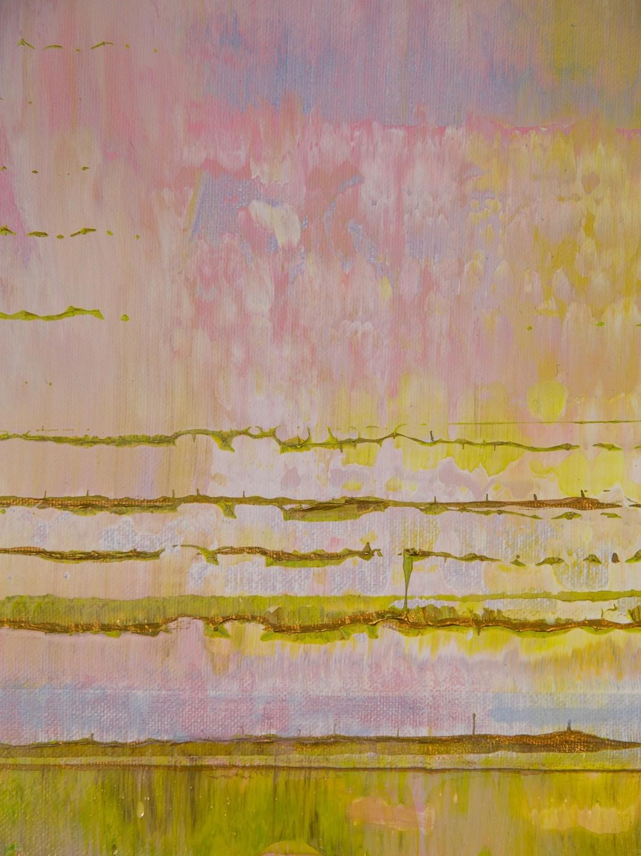 Prisma 13 - Pinker Nil | Malerei von Lali Torma | Acryl auf Leinwand, abstrakt, Detail 4