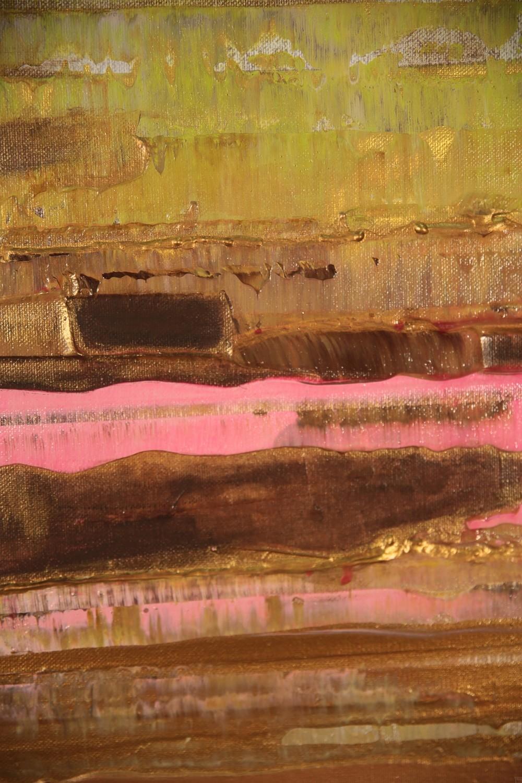 Prisma 13 - Pinker Nil | Malerei von Lali Torma | Acryl auf Leinwand, abstrakt, Detail 8