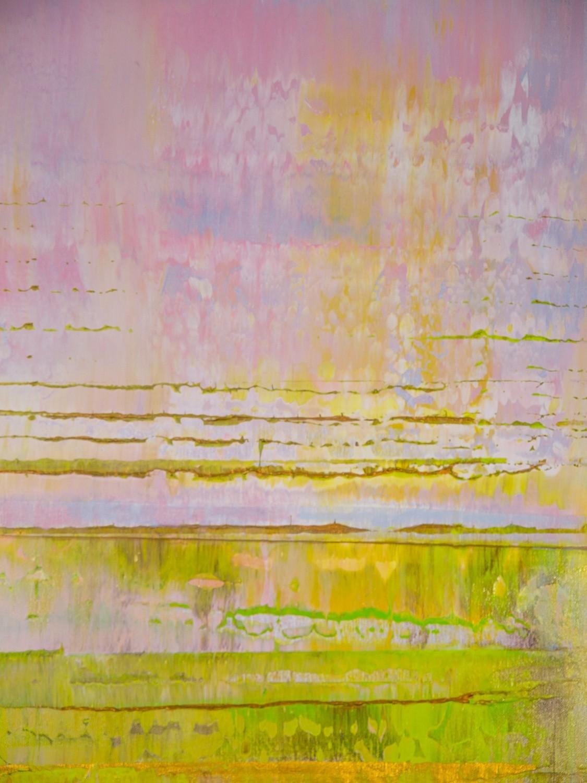 Prisma 13 - Pinker Nil | Malerei von Lali Torma | Acryl auf Leinwand, abstrakt, Detail 9