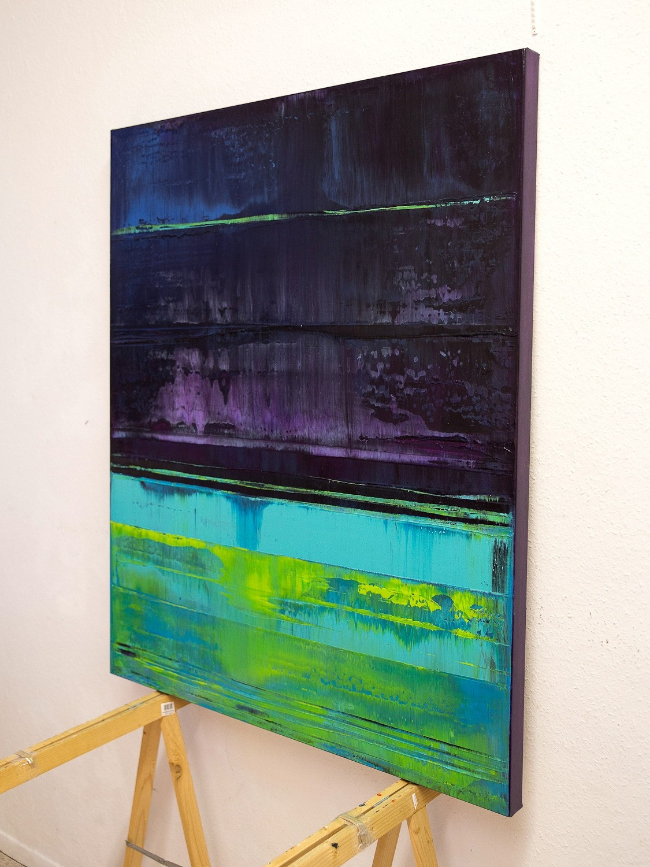 Prisma 16 – Verbotener Fluss | Malerei von Lali Torma | Acryl auf Leinwand, abstrakt (6)
