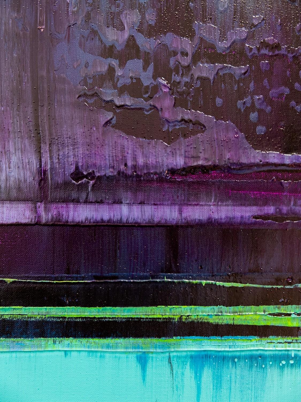 Prisma 16 – Verbotener Fluss | Malerei von Lali Torma | Acryl auf Leinwand, abstrakt (4)