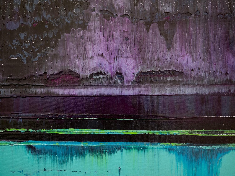 Prisma 16 – Verbotener Fluss | Malerei von Lali Torma | Acryl auf Leinwand, abstrakt (5)