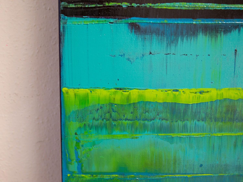 Prisma 16 – Verbotener Fluss | Malerei von Lali Torma | Acryl auf Leinwand, abstrakt (2)