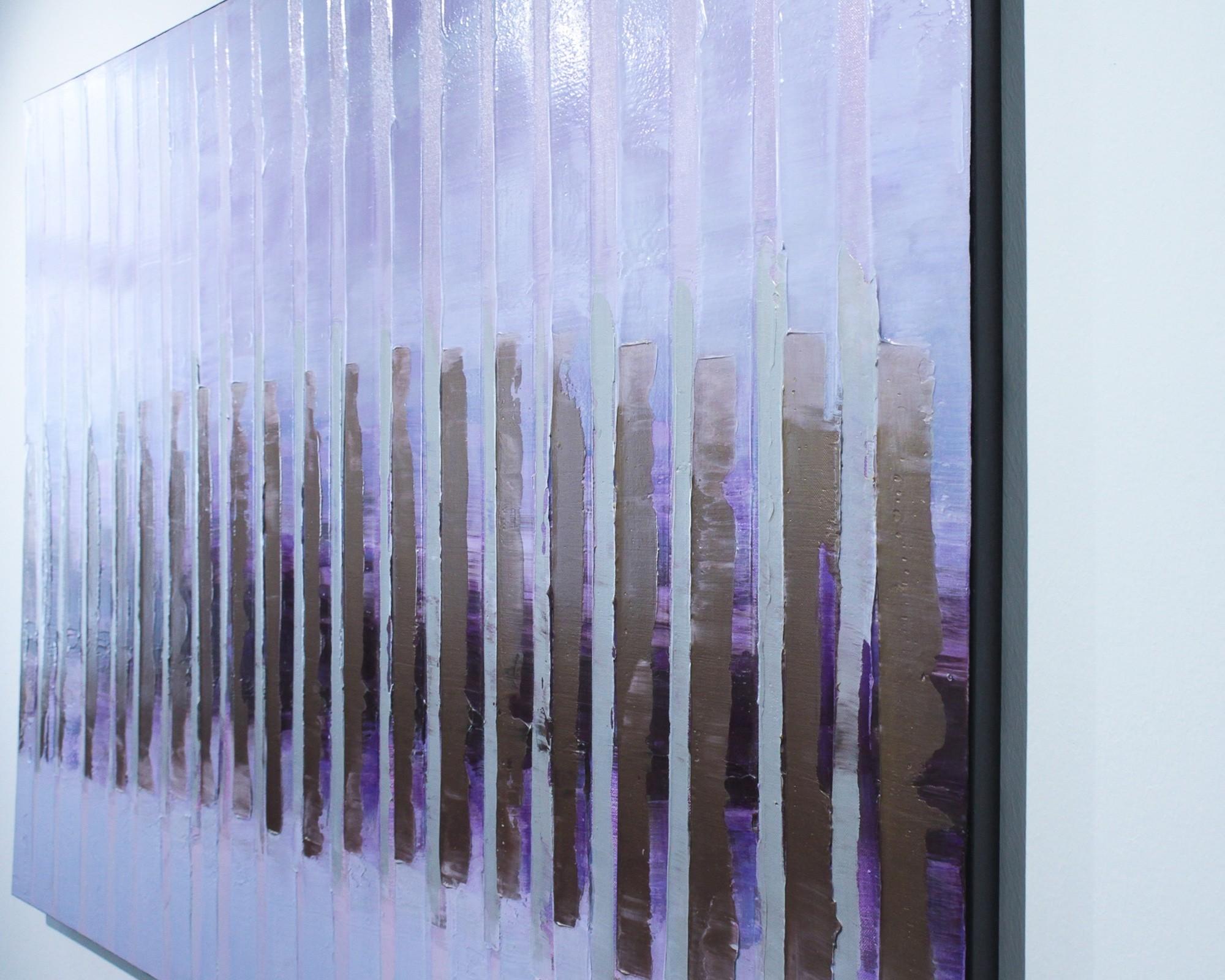 Pink November | Malerei von Lali Torma | Acryl auf Leinwand, abstrakt (3)