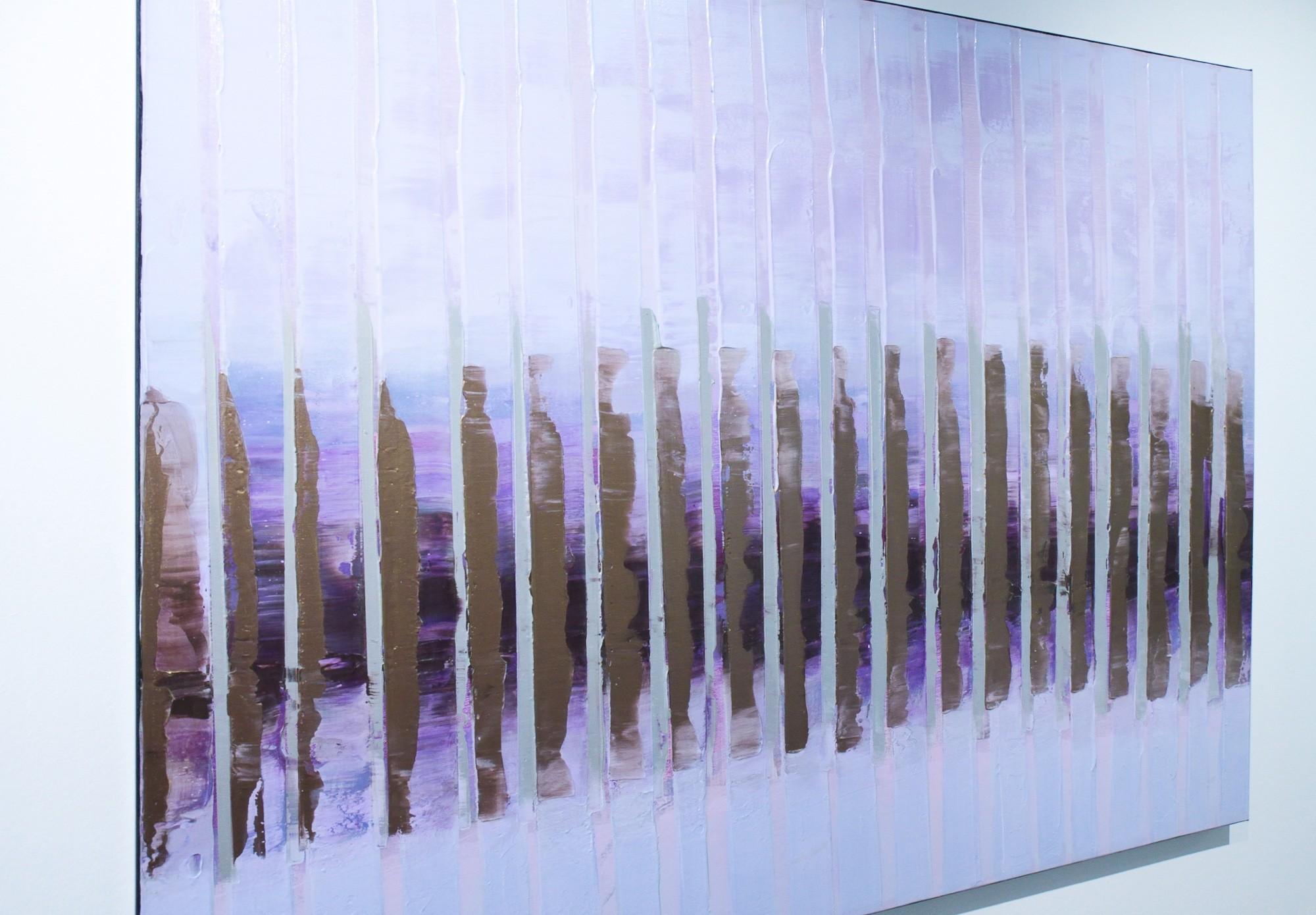 Pink November | Malerei von Lali Torma | Acryl auf Leinwand, abstrakt (2)