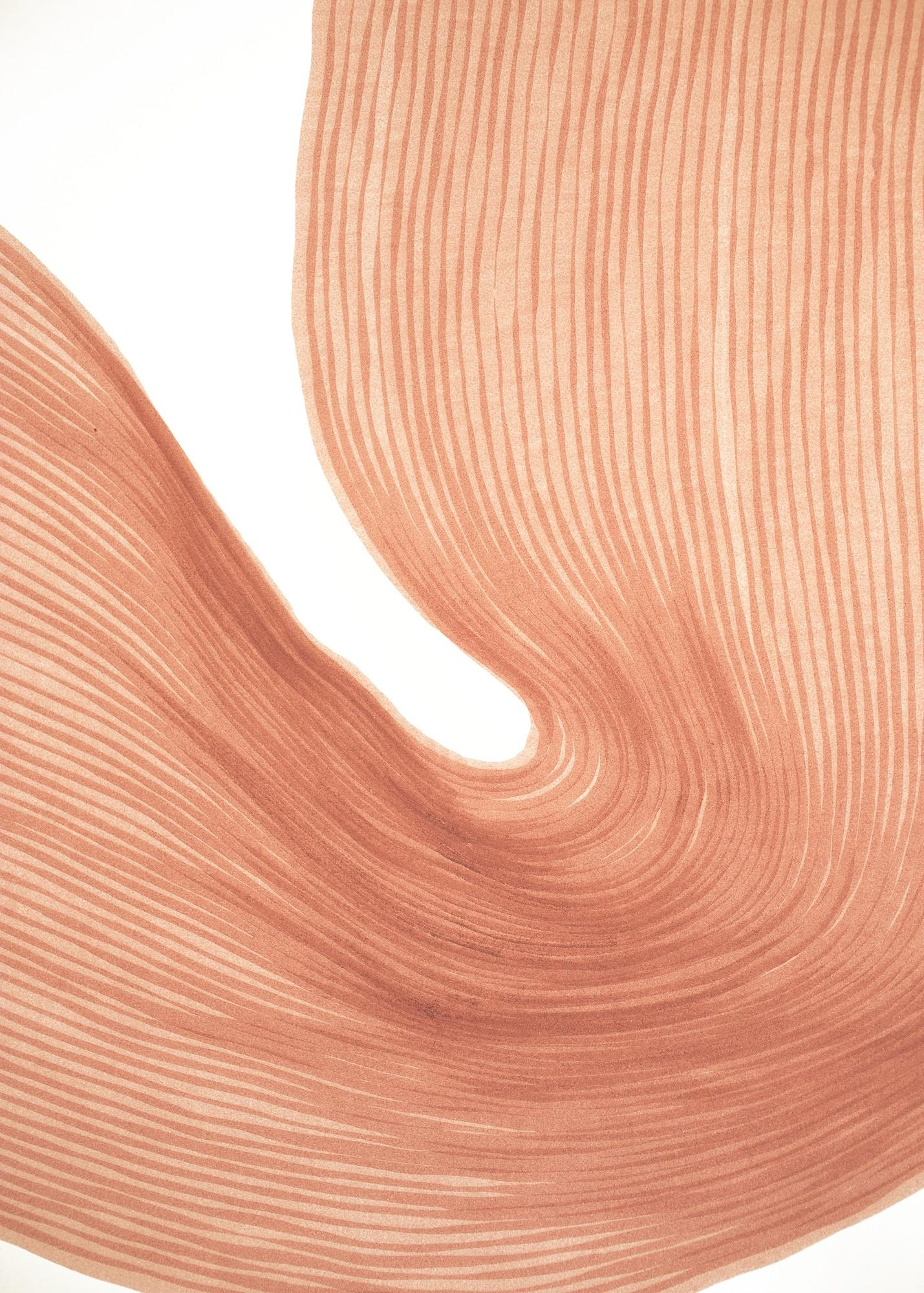 Melon Powder  | Lali Torma | Zeichnung | Kalligraphietusche auf Papier, Detail