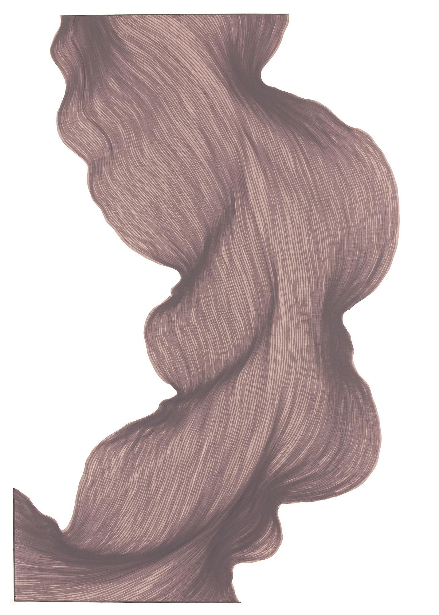 Old Lavender | Lali Torma | Zeichnung | Kalligraphie Tinte auf Papier