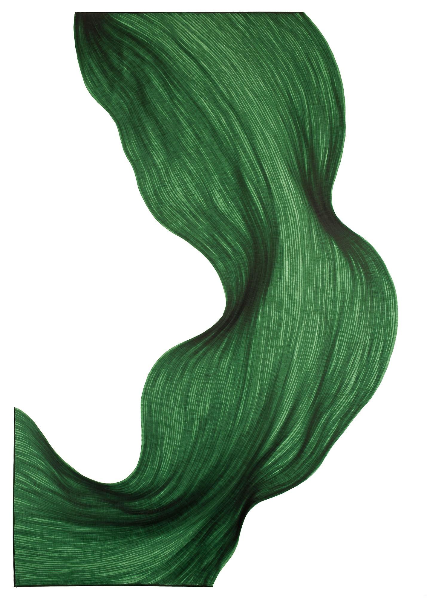 Evergreen Fold | Lali Torma | Zeichnung | Kalligraphie Tinte auf Papier