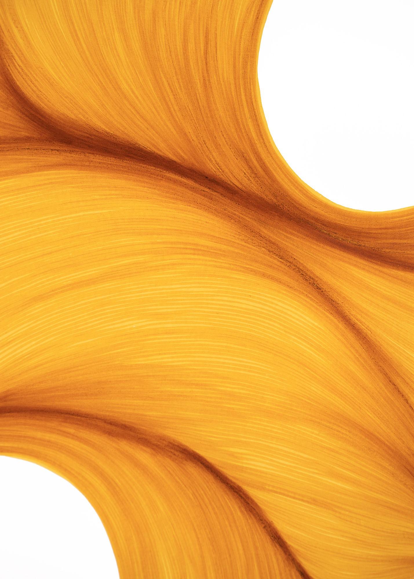 Sunlight Melt | Lali Torma | Zeichnung | Kalligraphie Tinte auf Papier - Detail