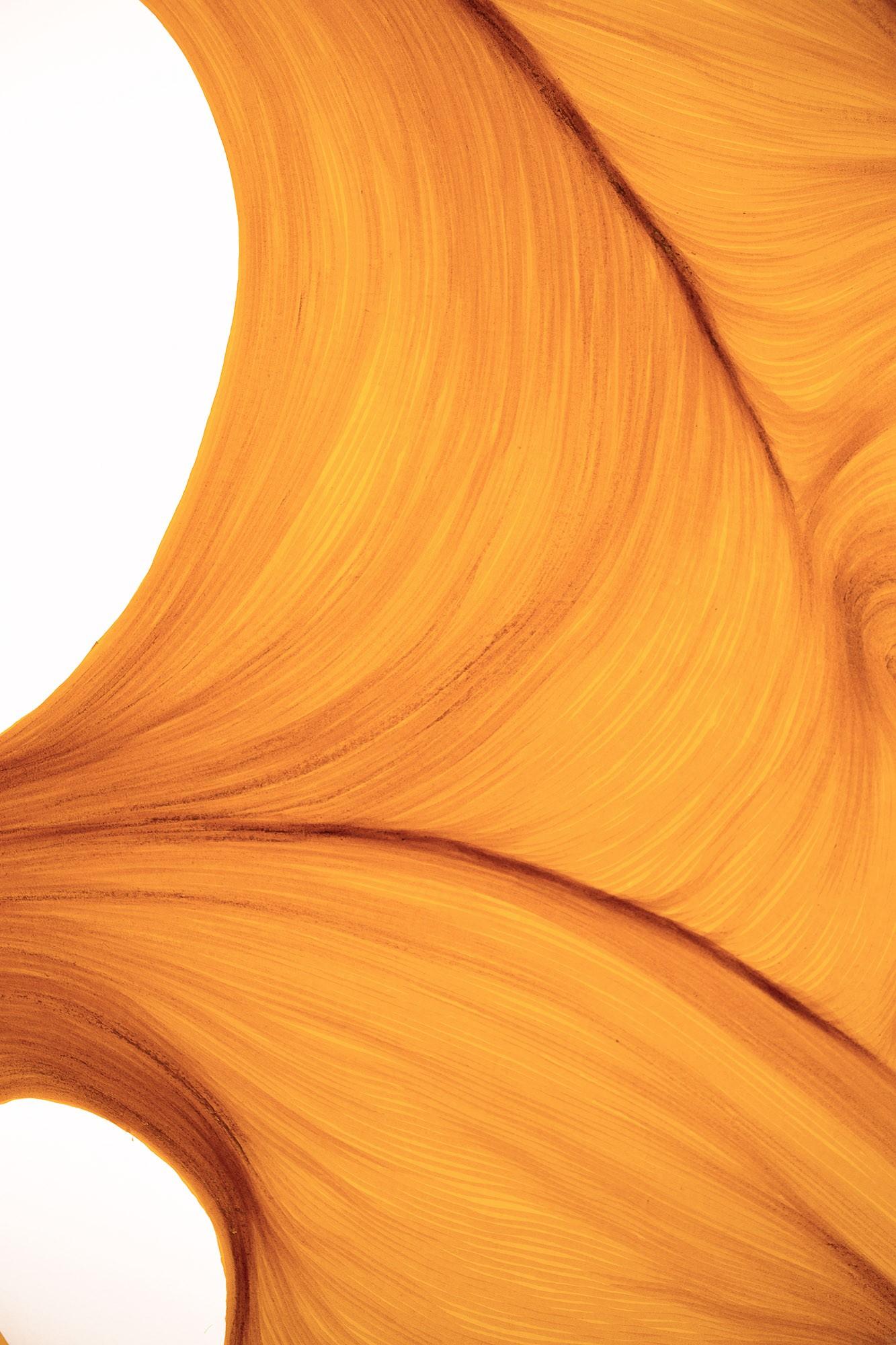 Sunlight Melt | Lali Torma | Zeichnung | Kalligraphie Tinte auf Papier - Detail 2