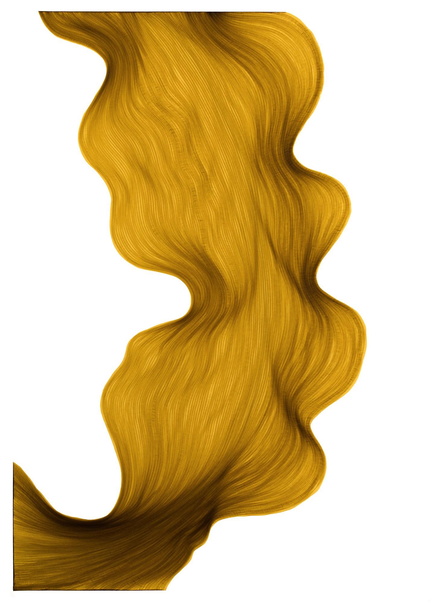 Old Gold | Lali Torma | Zeichnung | Kalligraphie Tinte auf Papier