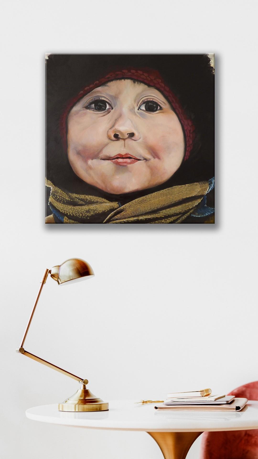 4 in Murmansk | Malerei von Eva Nordal | Öl auf Leinwand, realistisch - 2