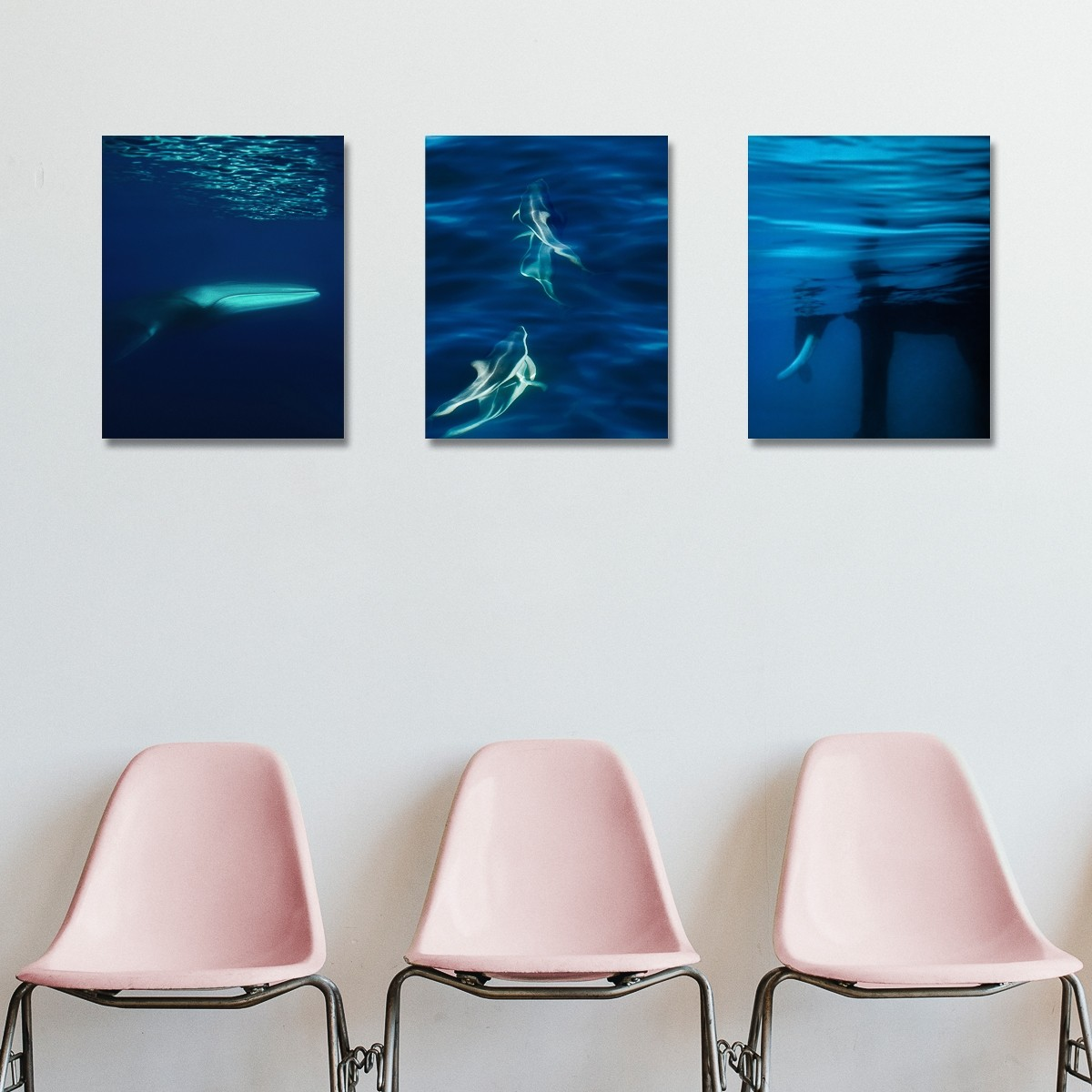Oceans 1 - 3 | Fotografiecollage von Finkbeiner & Salm, Direktdruck auf Alu-Dibond, limitierte Edition 50+2
