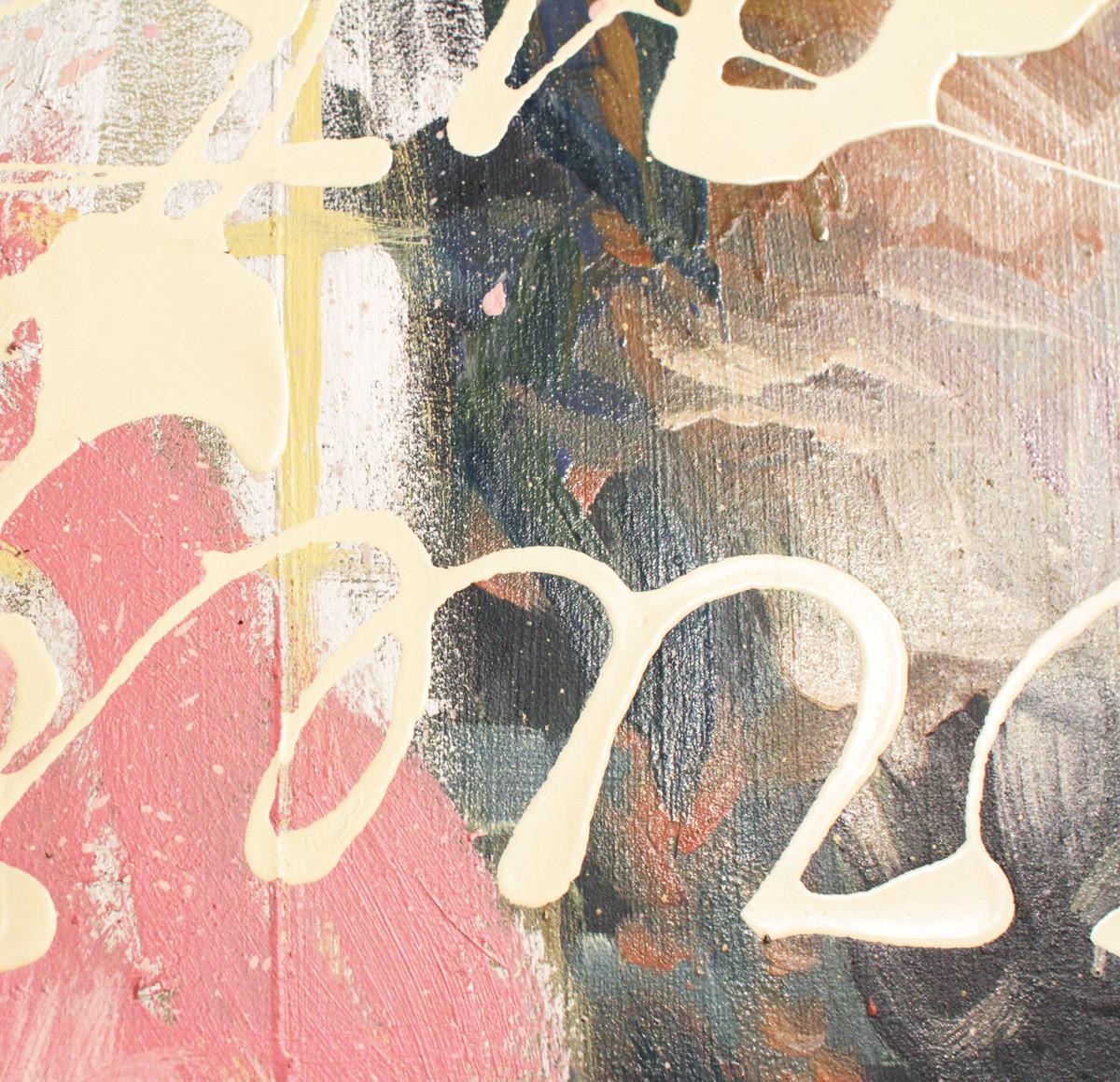 Detail Malerei Rosen sind Rot | Künstler Marek Schovanek