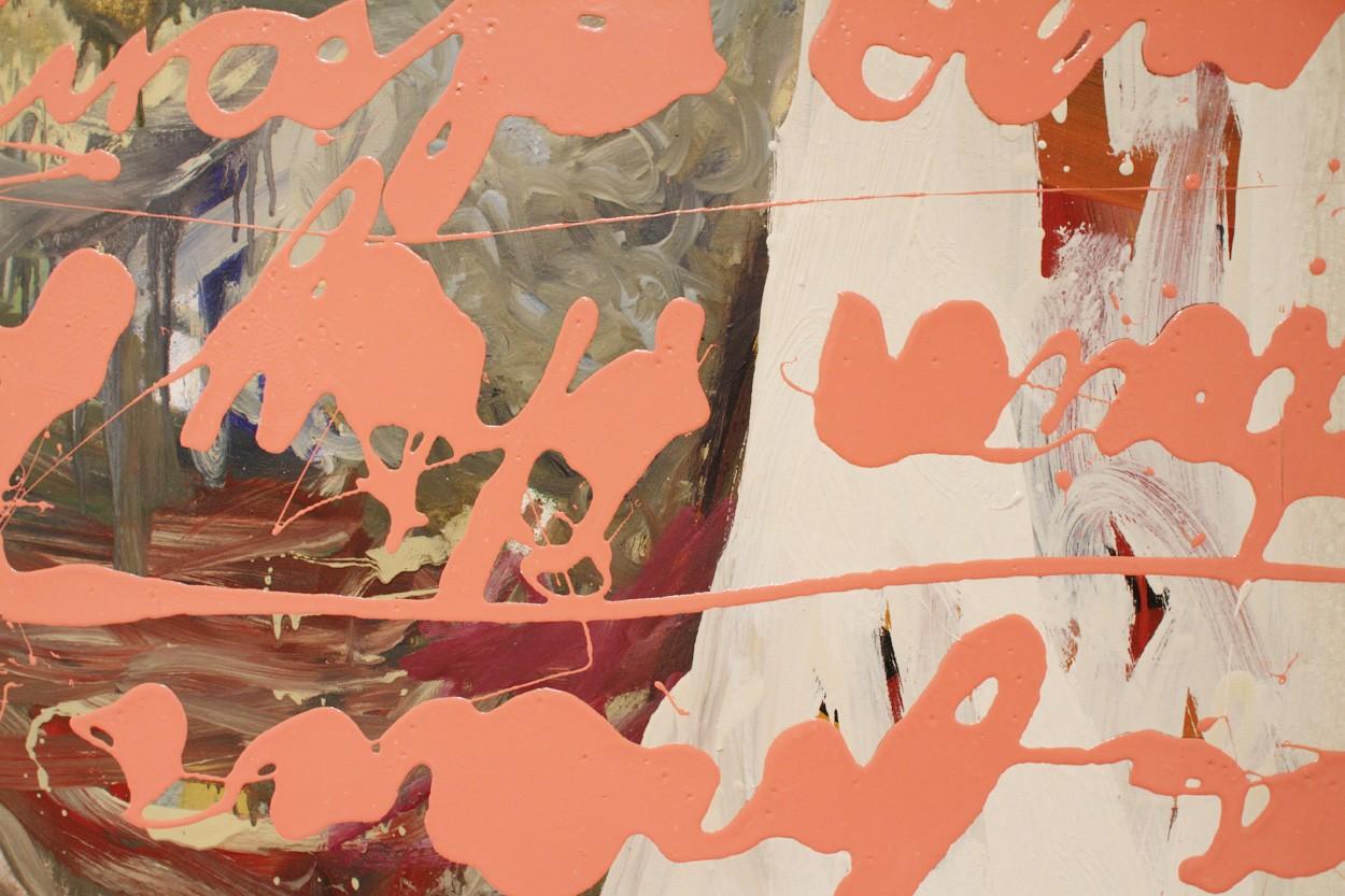 Detail Malerei Gala | Künstler Marek Schovanek