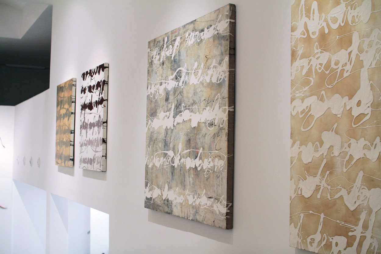 Malerei Stenografie #13 | Ausstellung PROPAGANDA | Künstler Marek Schovanek