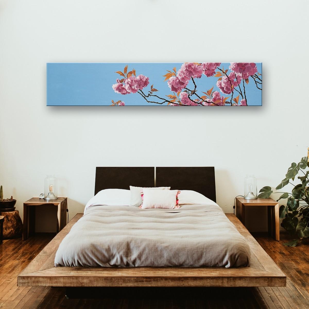 Baumblüte | Malerei von Sven Wiebers | Acryl auf Baumwolle, realistisch - 2