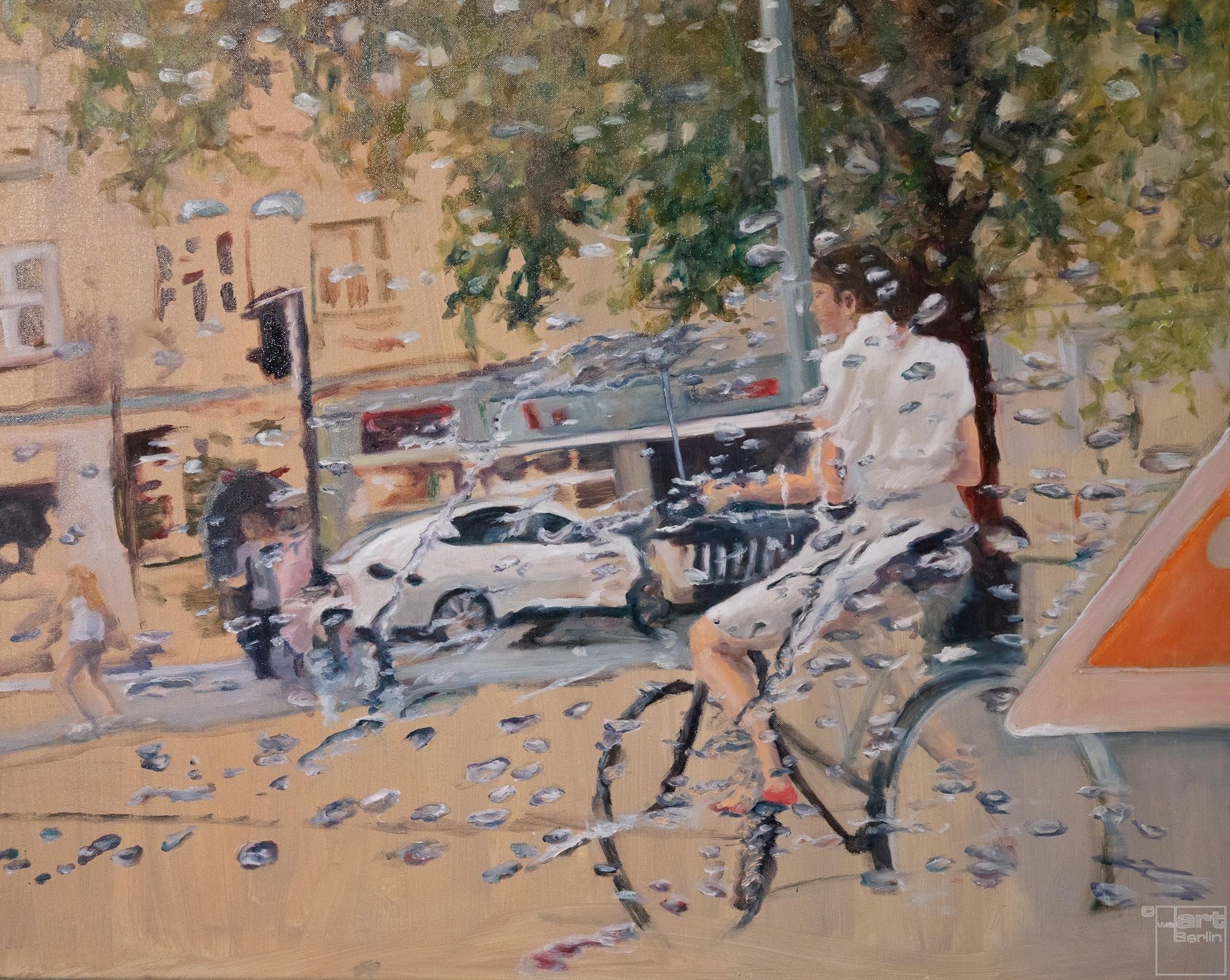 Flowing | Malerei von Künstlerin Simone Westphal, Öl auf Leinwand