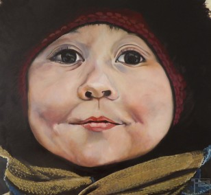 4 in Murmansk | painting by Eva Nordal | oil on canvas, realistic art