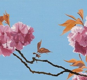 Tree blossom | painting by Sven Wiebers | acrylic on cotton, realistic art