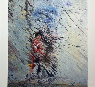 "Kunstdruck ""Fluid"" by Simone Westphal   Fineartprint Hahnemühle, Limitierung 10"