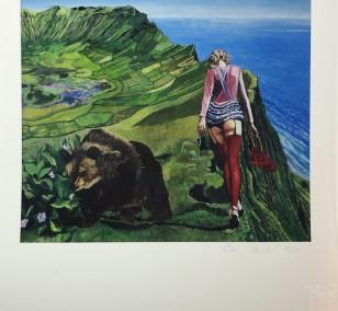 """Kunstdruck """"Rotkaeppchen"""" by Nordal   Fineartprint Hahnemühle, Limitierung 10"""