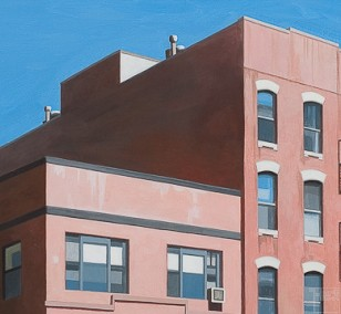 East Village | painting by Sven Wiebers | acrylic on cotton, realistic art