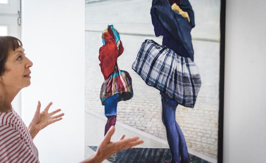Malerin Eva Nordal | Kuenstler | weartberlin online gallery