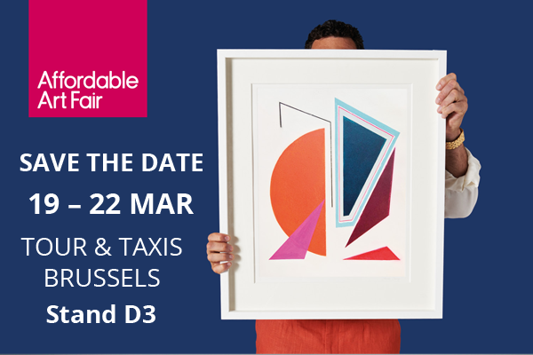 Save the Date - Affordable Art Fair Brussels