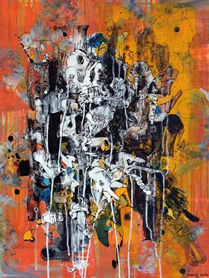 Malerei von Peer Kriesel