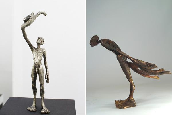 Bronze ICH und Unschuld