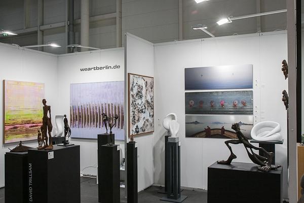 Galerie weartberlin - Messestand - Affordable Art Fair Hamburg 2019