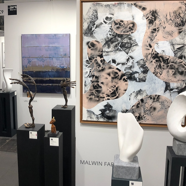 Galerie weartberlin - Messestand - Affordable Art Fair Hamburg 2019