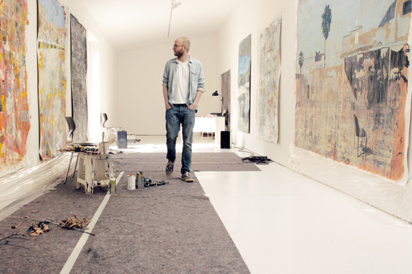 Malwin im Atelier