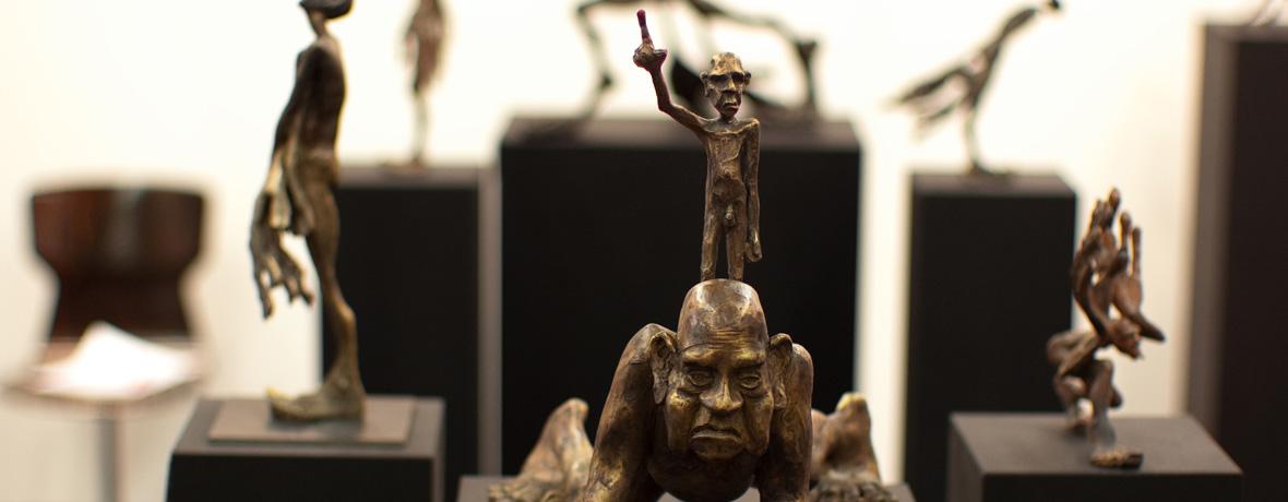 Kunst mieten. Kunst kaufen. Skulptur von Tim David Trillsam
